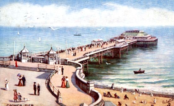 Cromer pier on a good day
